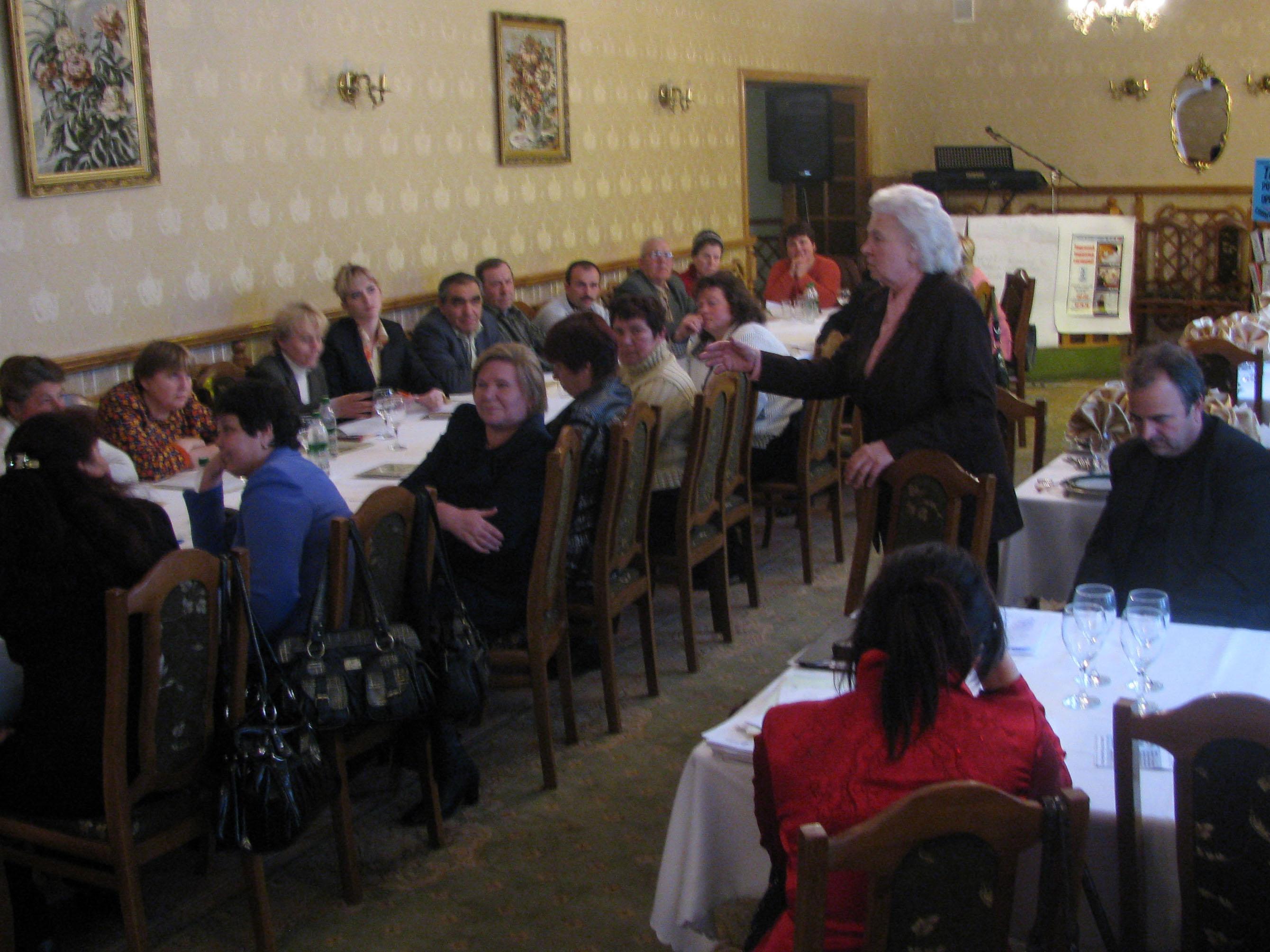 Seminar in Edinet district on GAP