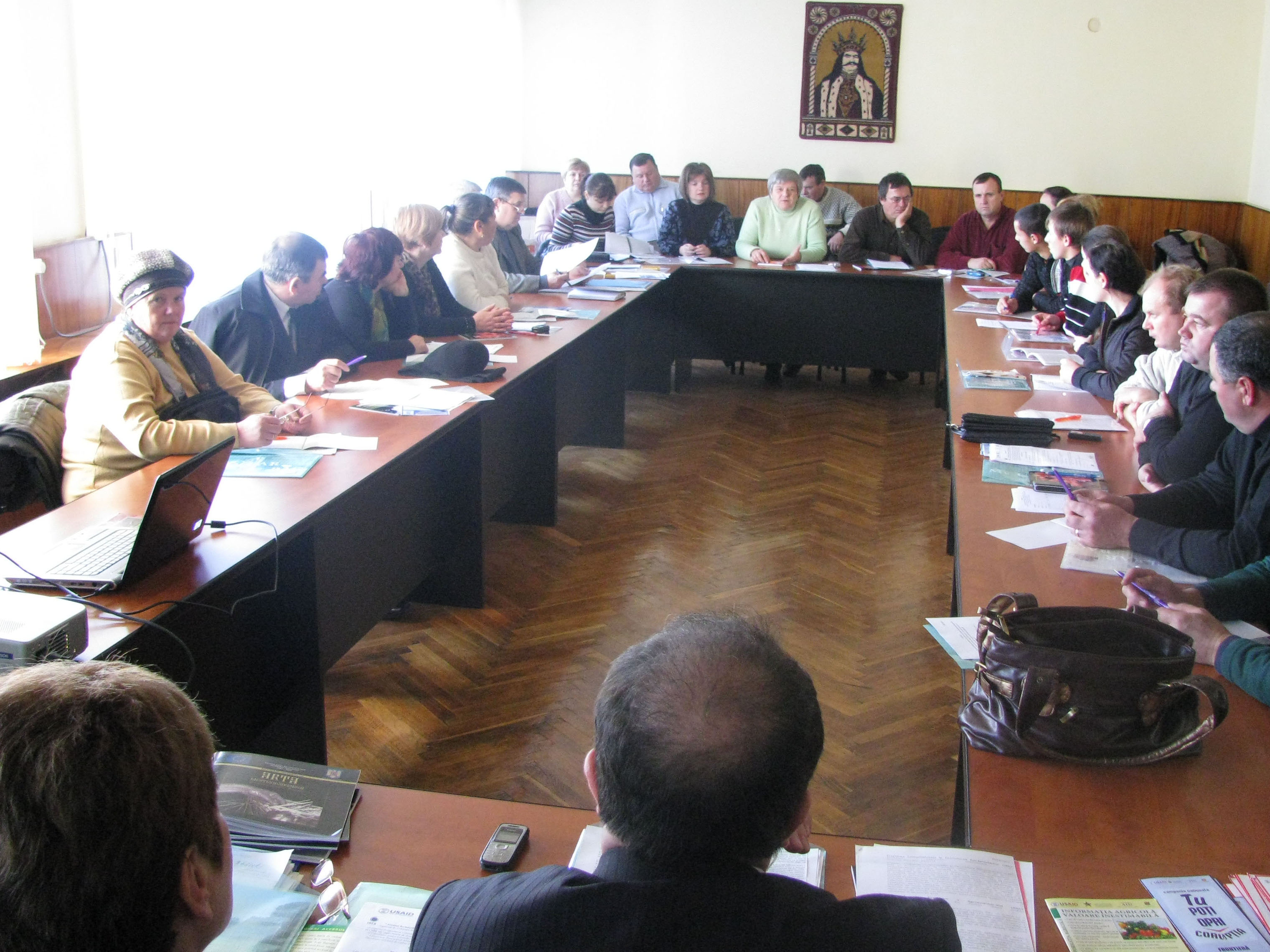 Seminar in Glodeni  district on access to agr. info