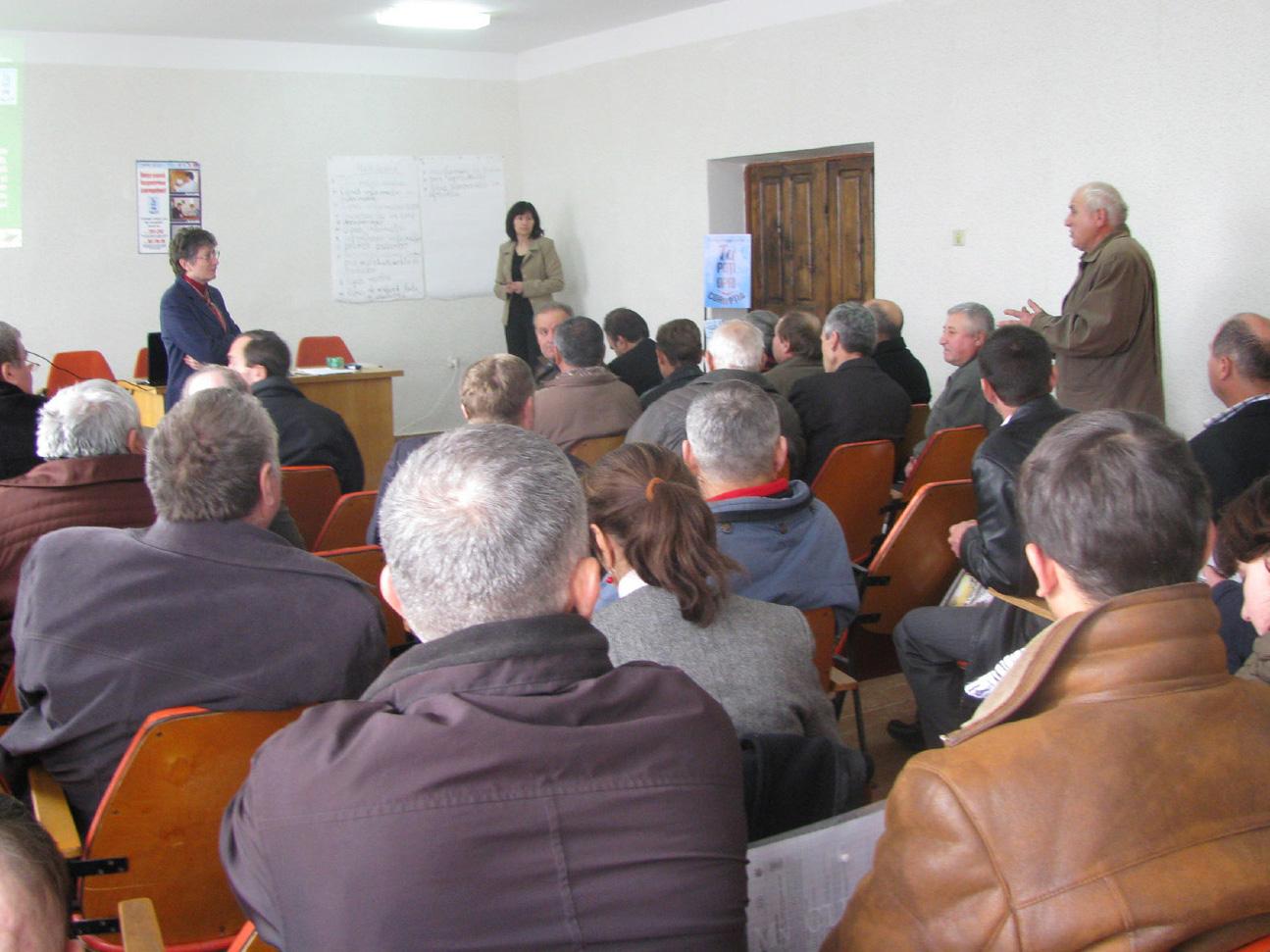 Seminar in Ialoveni district on SA