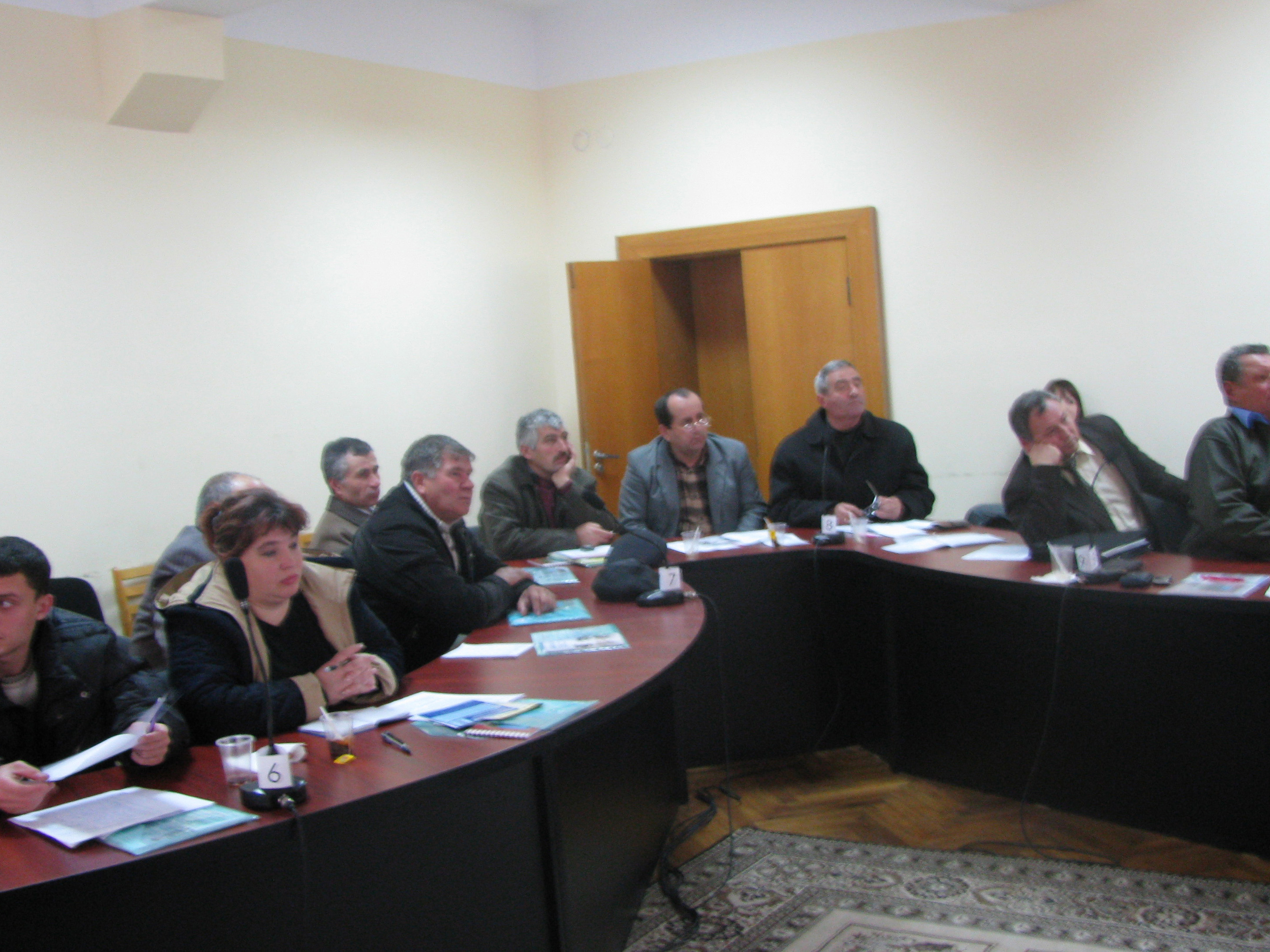 Seminar in Orhei district on ecological agriculture